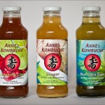 Anne's Kombucha Cranberry Lime, Ginger and Blue Green Algae
