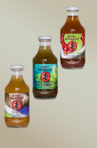 Popular Kombucha Flavors brought to you by Anne's Kombucha